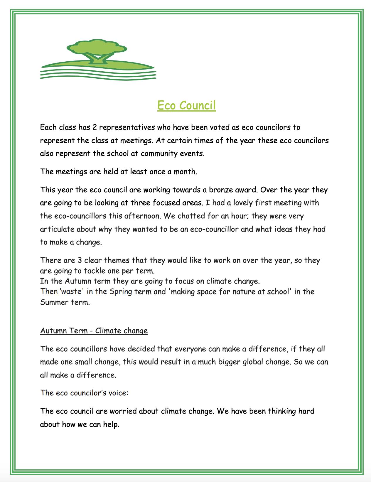 Eco-council